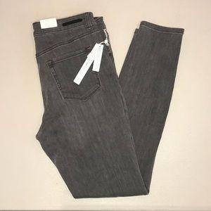 NWT Caslon grey skinny jeans